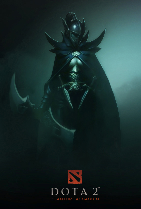 Dota 2 Phantom Assassin by d-k0d3