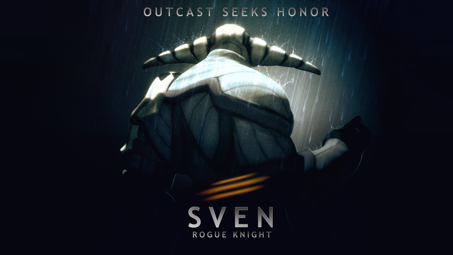 Sven - Outcast Seeks Honor by d-k0d3