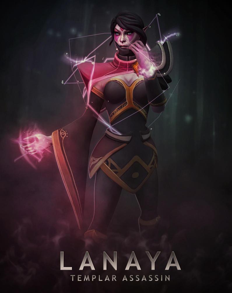 Dota 2 Lanaya by d-k0d3