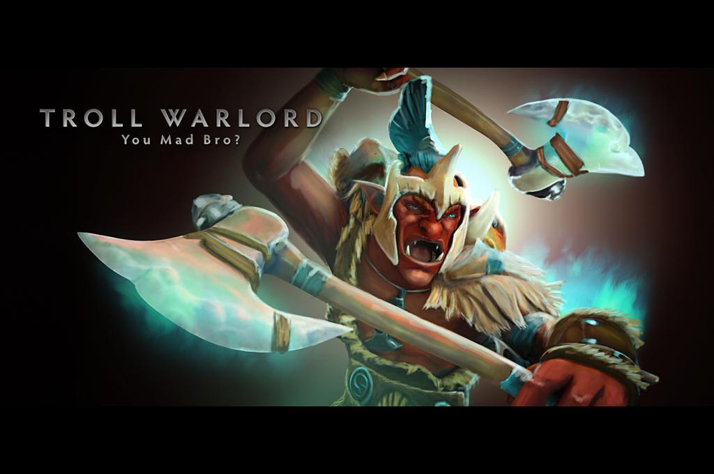 Troll Warlord by d-k0d3