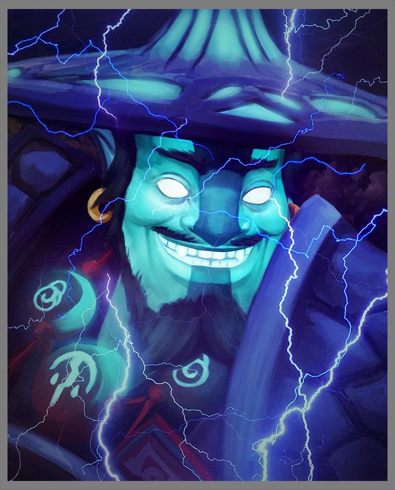Storm Spirit By D K0d3