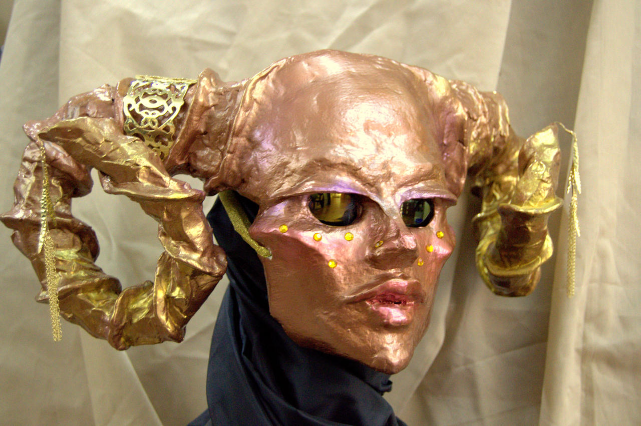 Succubus Mask by charlieblue666