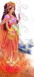 Shri Lakshmi by logynn-b-hailley