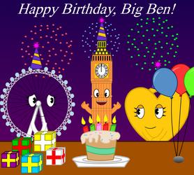 Big Ben's Big Birthday Blowout