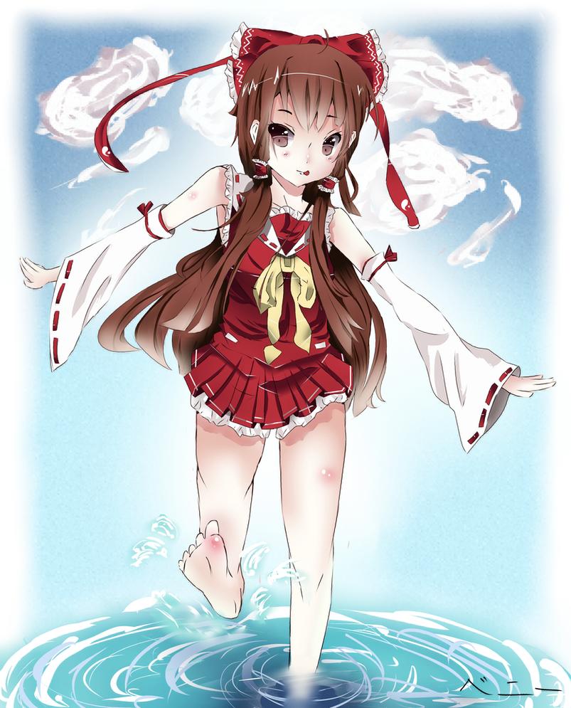 Touhou Hakurei Reimu by Xunq