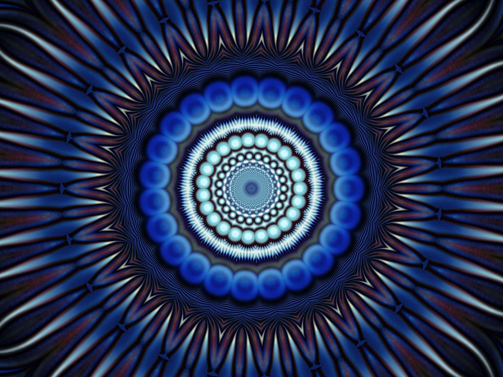 Blue Pattern Madness... by Kgustafso