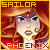 Senshi Badge: Sailor Phoenix by Shade-Arts