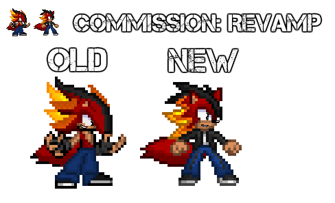 Commission: Yu Revamp by jameswolf100