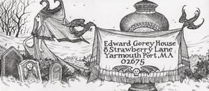 Edward Gorey Envelope