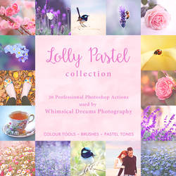 Lolly Pastel Photoshop Action Collection