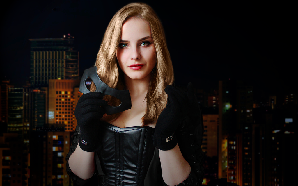 Black Canary test cosplay by RevyJerry