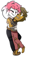 Hugs many hugs