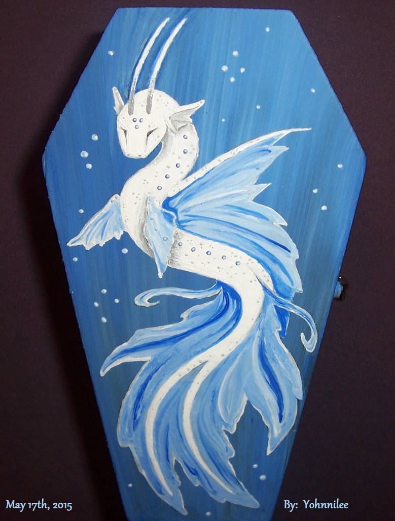 Deep Sea Bio-luminescent Water Dragon