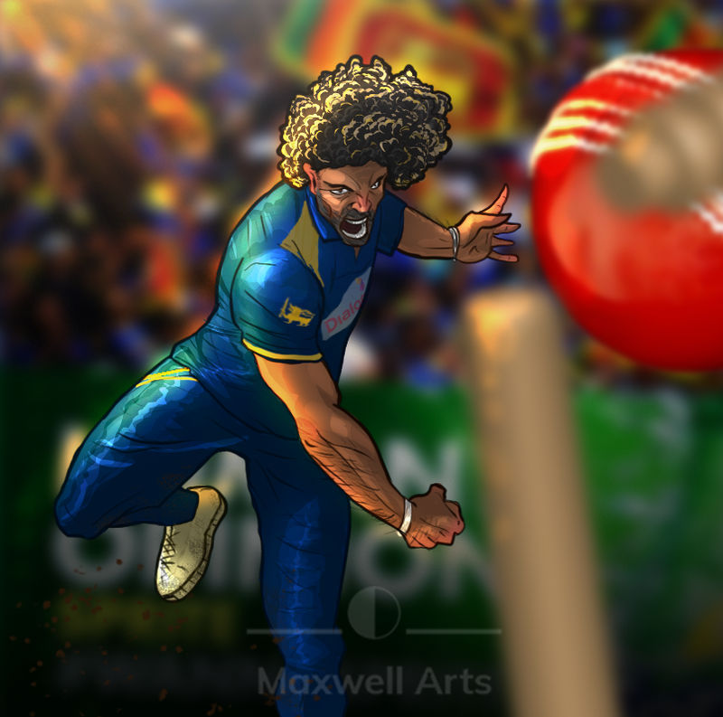 Lasith Malinga A Famous Cricketer By Shehan103 On Deviantart