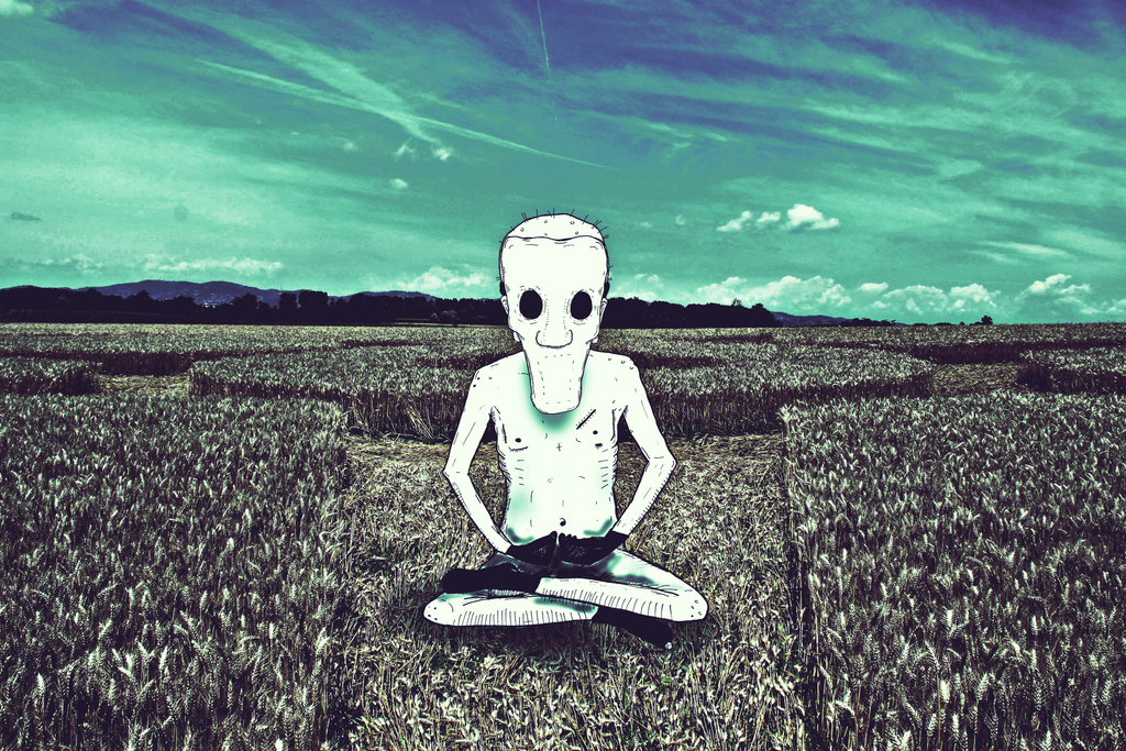 Billy the killer - meditating in a crop circle by dsaintd ... Billy The Killer