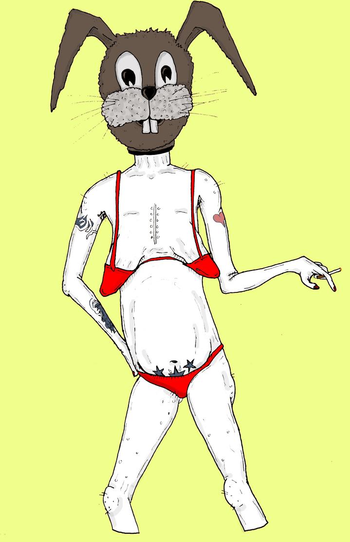 Bunny Girl by dsaintd