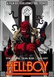 Art Deco Hellboy