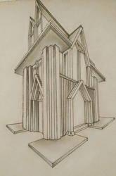 Modern Roman/Gothic Church