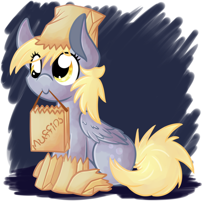 CP: Filly Derpy by LittlePinkAlpaca