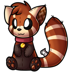 ClickCritters: Red Panda Kiro Plushie