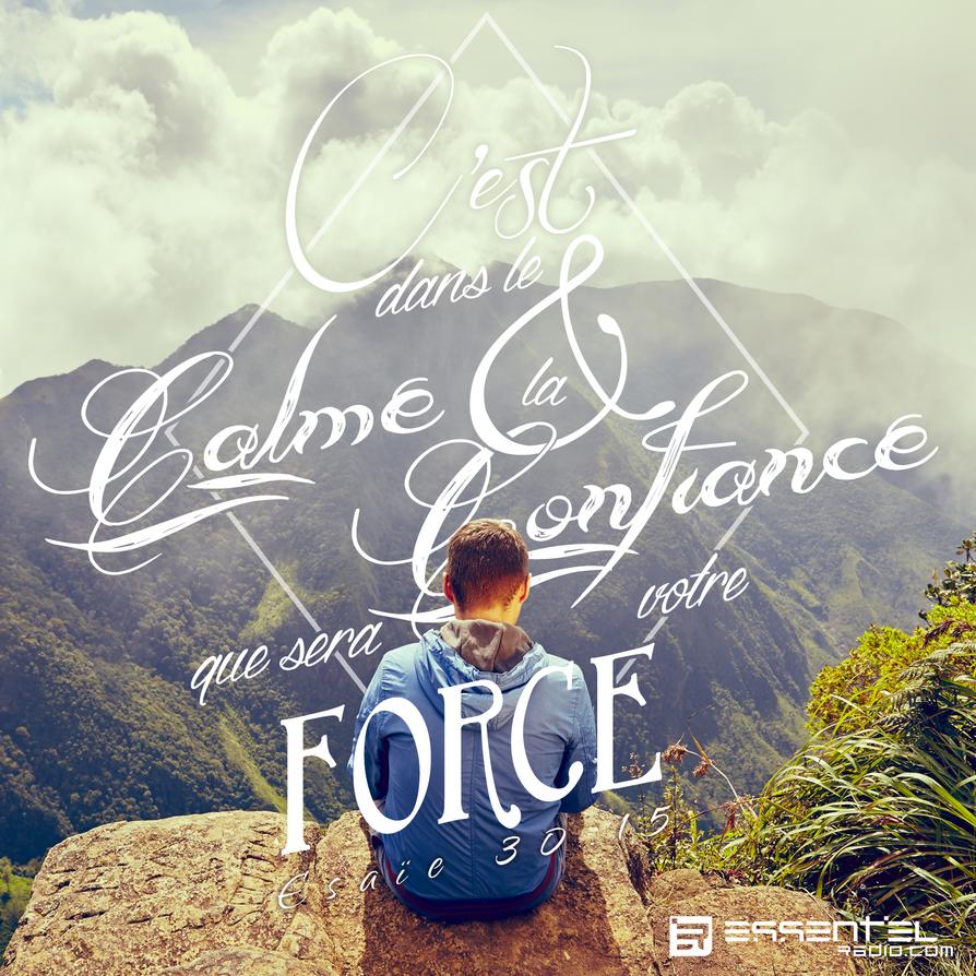 Dans le calme et la confiance sera votre force by Maybeimalion7