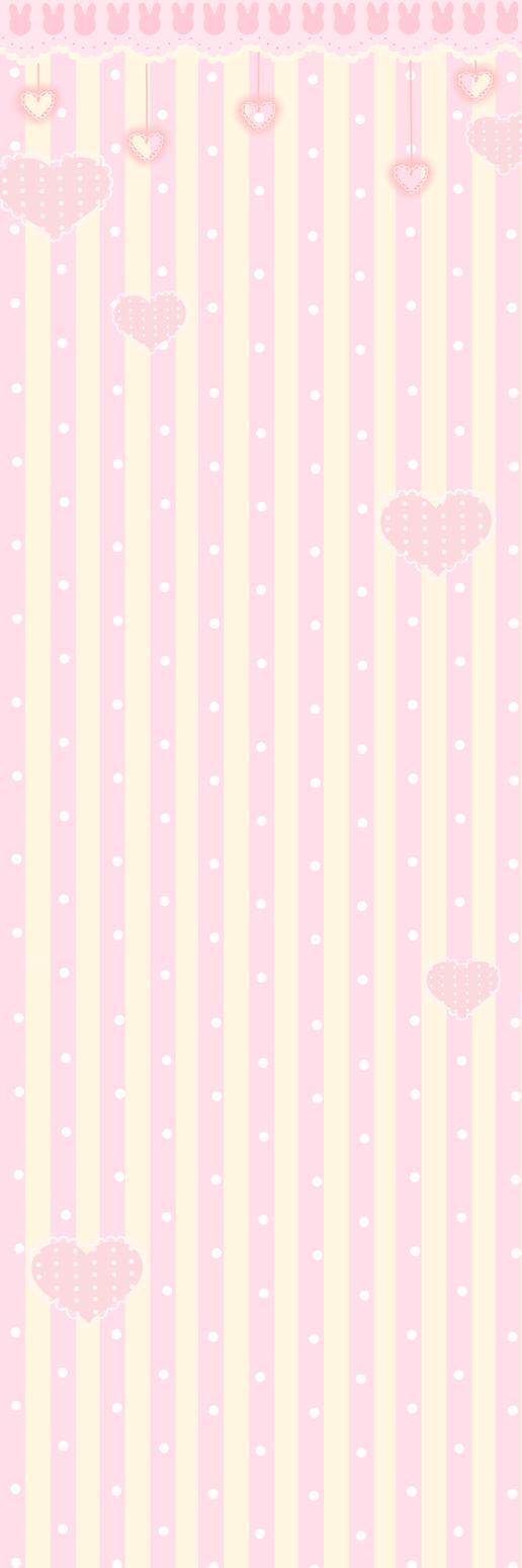 BunnyBG pink yellow by PomPom-chu