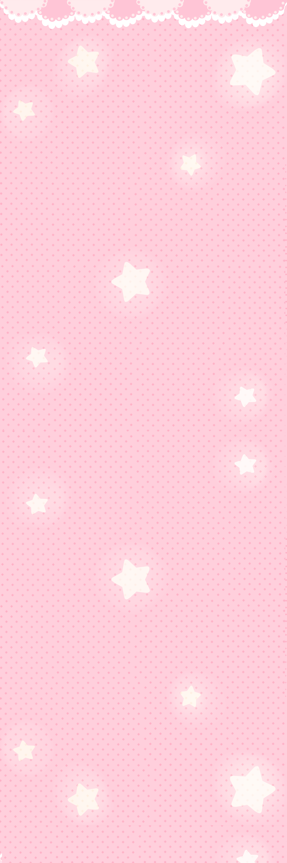 Backround Pink stars by PomPom-chu