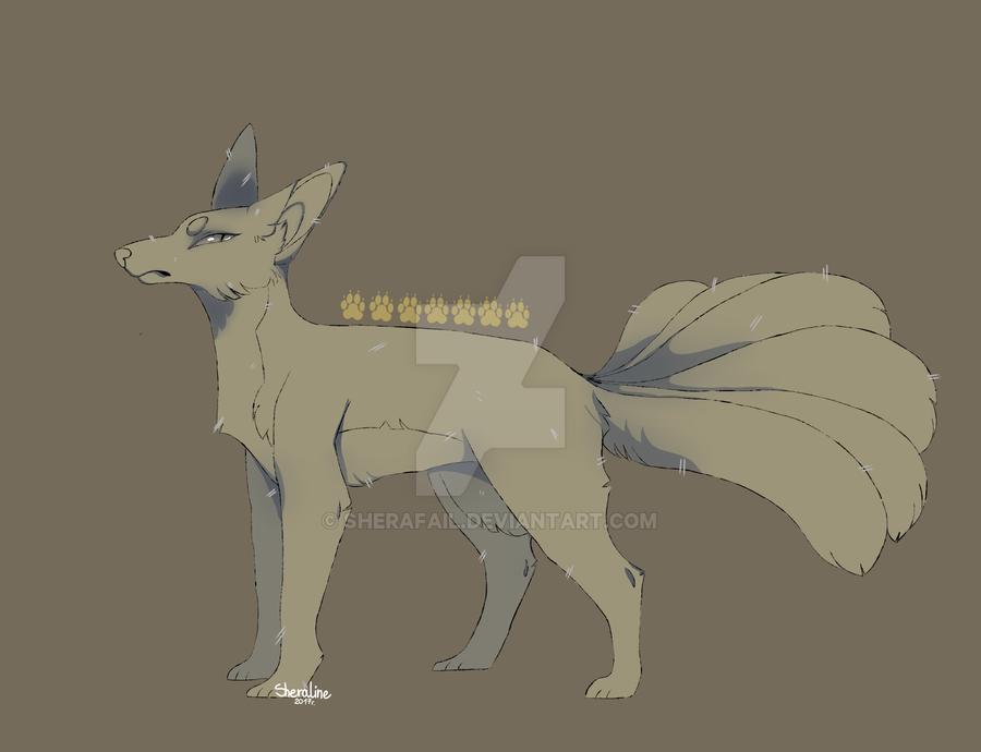 Line fox [open] by sherafail