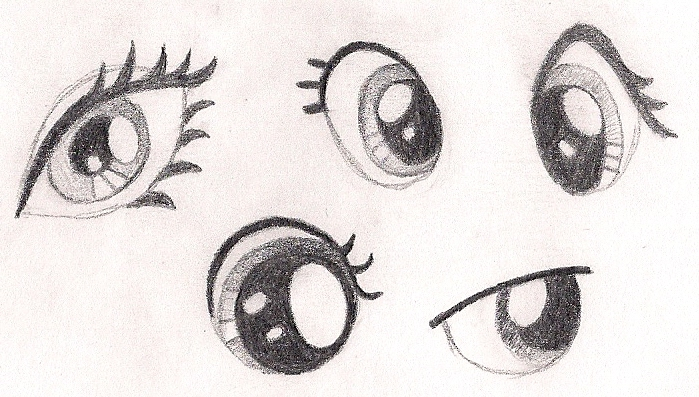 How to Sketch Eyes on My Little Pony Characters by drawponies