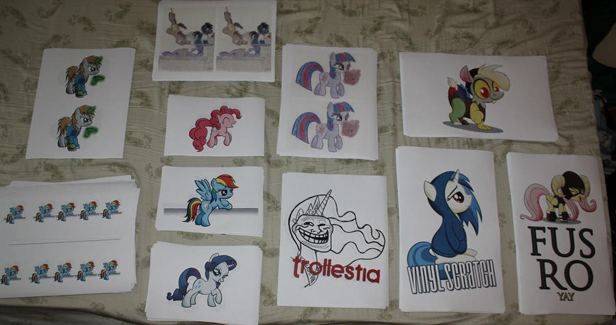 New prints for Equestria L.A. and beyond! by drawponies