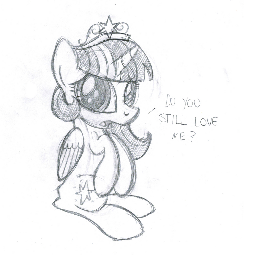 Do you still love me? by drawponies