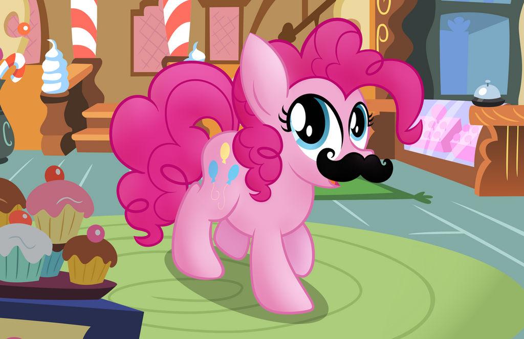 Pinkie Pie's Magical Mustache