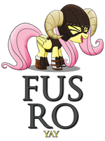 FUS RO yay (Poster Version) by artwork-tee