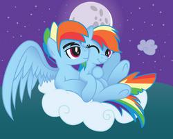 Rainbow Dash X Rainbow Blitz by artwork-tee