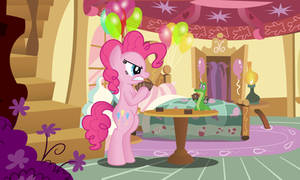 Pinkie and Gummy play Magic