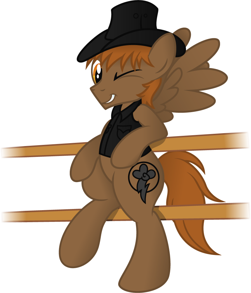 Calamity Gets All the Mares (Vector)