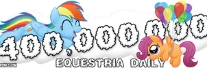 'Flying Lessons' Banner for Equestria Daily