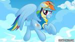 Dash Wonderbolt Drawponies Background