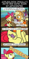 Comic: Applebloom (Finally) Gets Her Cutie Mark