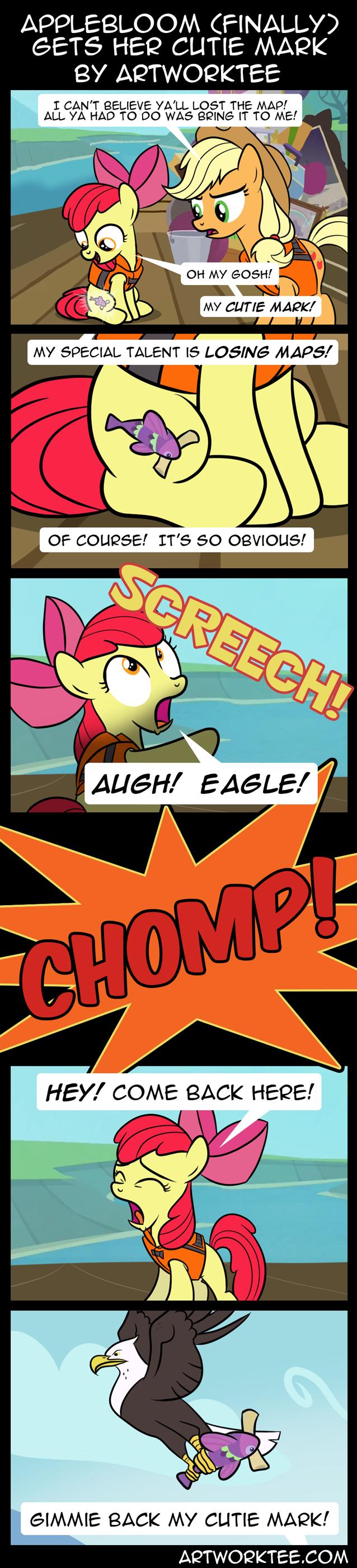 Comic: Applebloom (Finally) Gets Her Cutie Mark
