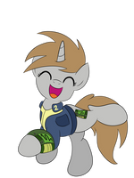Vector: Little Pip Happy (probably on Mint-Als) by artwork-tee