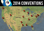2014 Convention Map (Old Version)