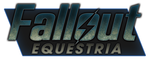 Fallout Equestria Logo by artwork-tee