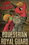 Commission: Equestrian Guard (Featured on EQD)