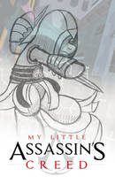 Sketch: Assassin's Creed Pony Poster by artwork-tee