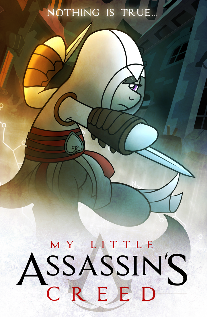 My Little Assassin's Creed by drawponies