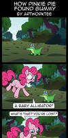 Comic: How Pinkie Pie Found Gummy