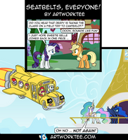 Comic: Seatbelts, Everyone! by artwork-tee