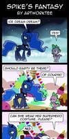 Comic: Spike's Fantasy