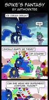 Comic: Spike's Fantasy by artwork-tee